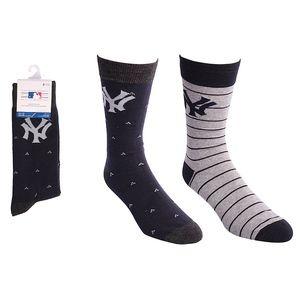 New York Yankees Dress Socks 2 Pack